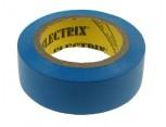 Elektroizolační páska samolepící PVC, 15mm x 10m, barva světle modrá.