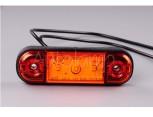 Světlo poziční LED 12 a 24V oranžové.