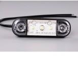 Světlo poziční LED 12 a 24V bílé.
