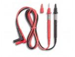 Bezpečnostní měřící kabely průměr 4mm s hrotem 2mm